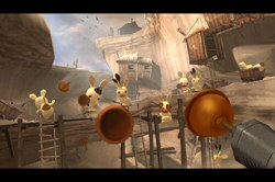 tonyhawks Raving Rabbids Screenshot
