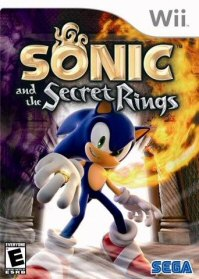 Sonic and The Secret Rings Art
